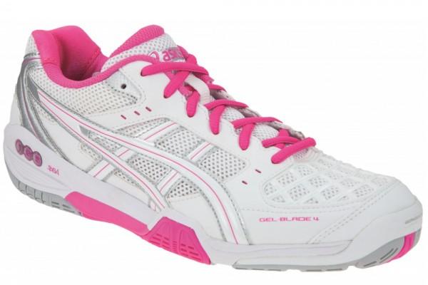 asics GEL BLADE 4 W weiss pink